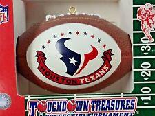 NFL Houston Texans Replica Football Ornament, NEW