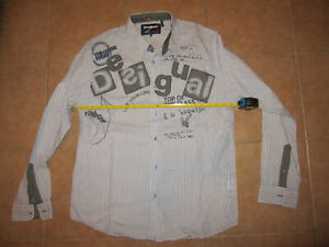 desigual mens shirt Sz-L (XL) 100% authentic