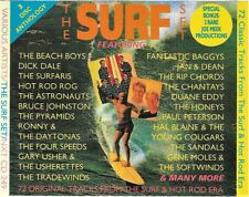 THE SURF SET - 3 CD various SURF GUITAR HOT ROD ROCK'N'ROLL - NXT CD 249 SEQUEL
