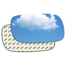 plate Left side Flat Wing door mirror glass for Vauxhall Calibra 90-97 heated