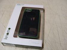 Knomo Tech London 90-950-BLK Iphone 5 5S Case Leather Black * NEW