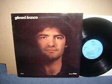 Gerard Franco-Vol. 1 privado toeta AG 1006 Lp occitano 70s Folk Rock M -! Raro!