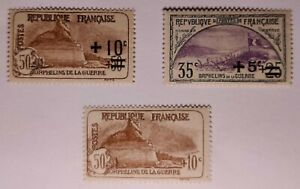France Charity collection Lightly Mounted Mint. €50. Perfs as photos