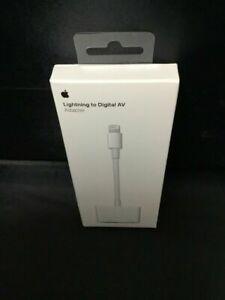 NEW IN BOX - Apple Lightning to HDMI Digital AV Adapter MD826AM/A - GENUINE OEM