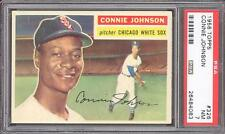 1956 Topps #326 Connie Johnson - PSA NM 7 - Chicago White Sox - TOUGH CARD!