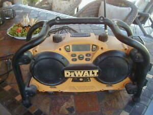 DEWALT Baustellenradio - neuwertig, nur verstaubt !