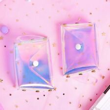 Fashion Holographic Transparent Coin Purse Jelly Girl's Laser Sweet Mini Wallet