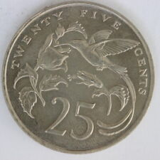 Jamaica 1989 25 cents (328/3095)
