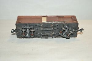 HOn3 scale vintage wood 30' sliding door box car train
