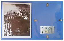 Berlino 1945 bandiera rossa Russia URSS Comunismo: quadro cornice vetro cm 30x24