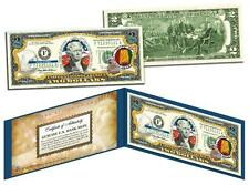 ALABAMA Statehood $2 Two-Dollar Colorized U.S. Bill AL State *Legal Tender*