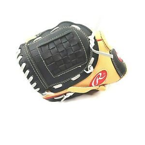 "NEW-Rawlings 10"" Left Hand Throw Tee Ball Glove Player Series WPL10CBSG Tan"