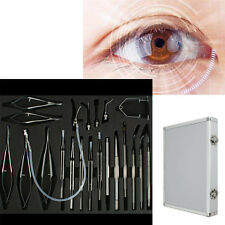 21pcs Micro Instruments Set For Cataract ,Intraocular Lens Implantation Surgery