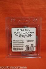 Hornady Lock-N-Load Ap Shell Plate #6 #392606