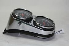 chrome dash console WITH tach + speedo gauges Harley FXRS Dyna FXDL FXD EPS23050