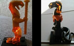lot 2 minifig figurines serpents ninjago char vs asheera figure snake neuf