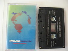 England NEW ORDER - world in motion - Cassette Tape