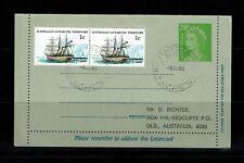 Australian Antarctic Territory - 1980 Letter Card Used to Australia - 091717