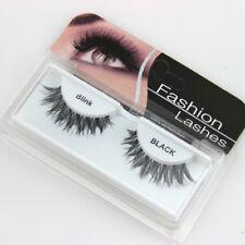 1Pair EyeLashes Extension Pure Handmade Eyelash Transparent Band False Eyelashes