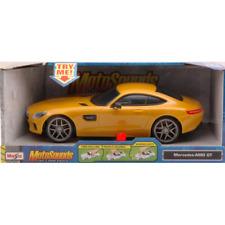 MERCEDES AMG GT MOTOSOUND PLASTICA 1:24 Maisto Auto Stradali Die Cast Modellino