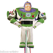 "19 ""Disney Pixar Toy Story Buzz Lightyear 3D Personaggio Pull Pinata Party Game"