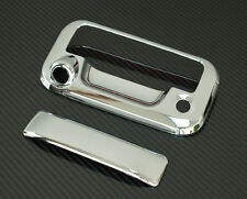 08-14 FORD SUPER DUTY F250+F350+F450 CHROME TAILGATE HANDLE COVER-WITH CAMERA
