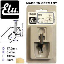 ELU E45134 HSS PIN GUIDED ROUND OVER ROUTER BIT CUTTER - 8MM SHANK - D23.8MM