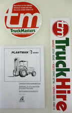 Sanderson Teleporter Forkiflt Plantman 2 Operators Manual (PHOTOCOPY)