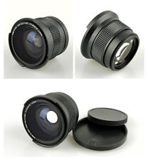 0.35x Fisheye Wide Angle Macro Lens 52mm for Nikon D90 D7100 D3300 D5200 18-55