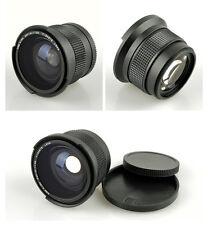 0.35x Fisheye Wide Angle Macro Lens 52mm for Nikon D90 D7100 D3300 D5200 18-55