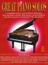 Great Piano Solos Learn to Play Classical Jazz Blues Piano Music The Red Book
