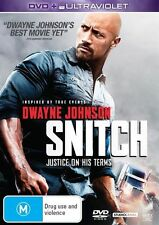 Snitch--DVD LIKE NEW CONDITION FREE POSTAGE AUSTRALIA WIDE U.V CODE INCLUDED