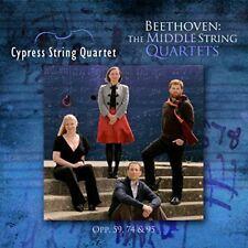 Cypress String Quartet - Beethoven The Middle String Quartets [CD]
