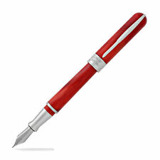 Pineider Avatar Ur Fountain Pen - Devil Red, Fine Nib - New in original box