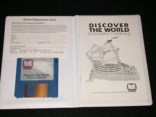 Vtg Discover the World History Series Computer PC Game Program MS-DOS Case Disc