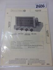 SAMS PHOTOFACT FOLDER MANUAL & SCHEMATIC RADIO HALLICRAFTERS MODEL S-78