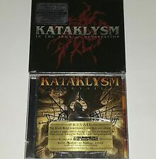 KATAKLYSM 2 SEALED Prevail CD DVD In The Arms of Devastation METAL NUCLEAR lp 45