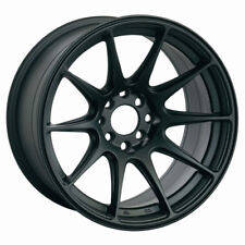 18x8.75/9.75 XXR 527 Rims 5x100/114.3 +20 Black Wheel Fits Hyundai Genesis Coupe