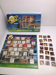 Vintage Haunted House Board Game by Falcon 1980s Complete Set