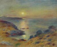 Home Decoration Wall Artwork Art Print Canvas Pierre-Auguste Renoir Sunset 8x10