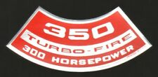 Chevrolet 350 Turbo-Fire 300 HP Air Cleaner Decal