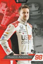 2019 Marco Andretti US Concrete Honda Dallara Indy Car postcard