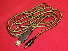 USB LADEKABEL Gold f. hohe Ströme Nintendo New3DS/3DSXL 3DS/3DSXL, 2DS, DSi 1,5m