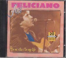 JOSE FELICIANO – 20 Grandes Exitos (Rodven/Polygram RVVD-3239, USA - 1995) NEW