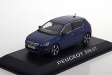 Peugeot 308 GT Bleu Magnetic T91 1/43