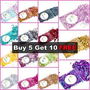 CHUNKY Festival Glitter 5g bag, Face Eye Body Hair Tattoo Cosmetic Glitter Party