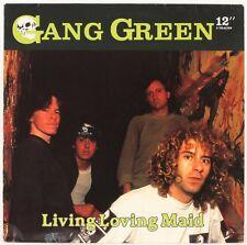 Living Loving Maid  Gang Green Vinyl Record