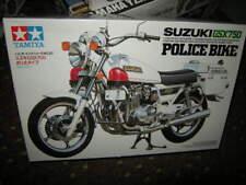 1:12 Tamiya suzuki gsx750 Police Bike Moto OVP