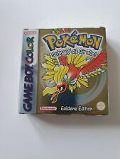 Nintendo Gameboy Pokemon Goldene Edition CIB Topzustand Game Boy PAL NES