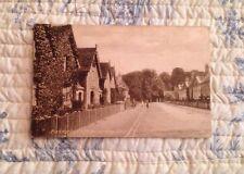 Vintage Post Card Of Badminton Village, Gloucestershire. Beaufort Postally Used